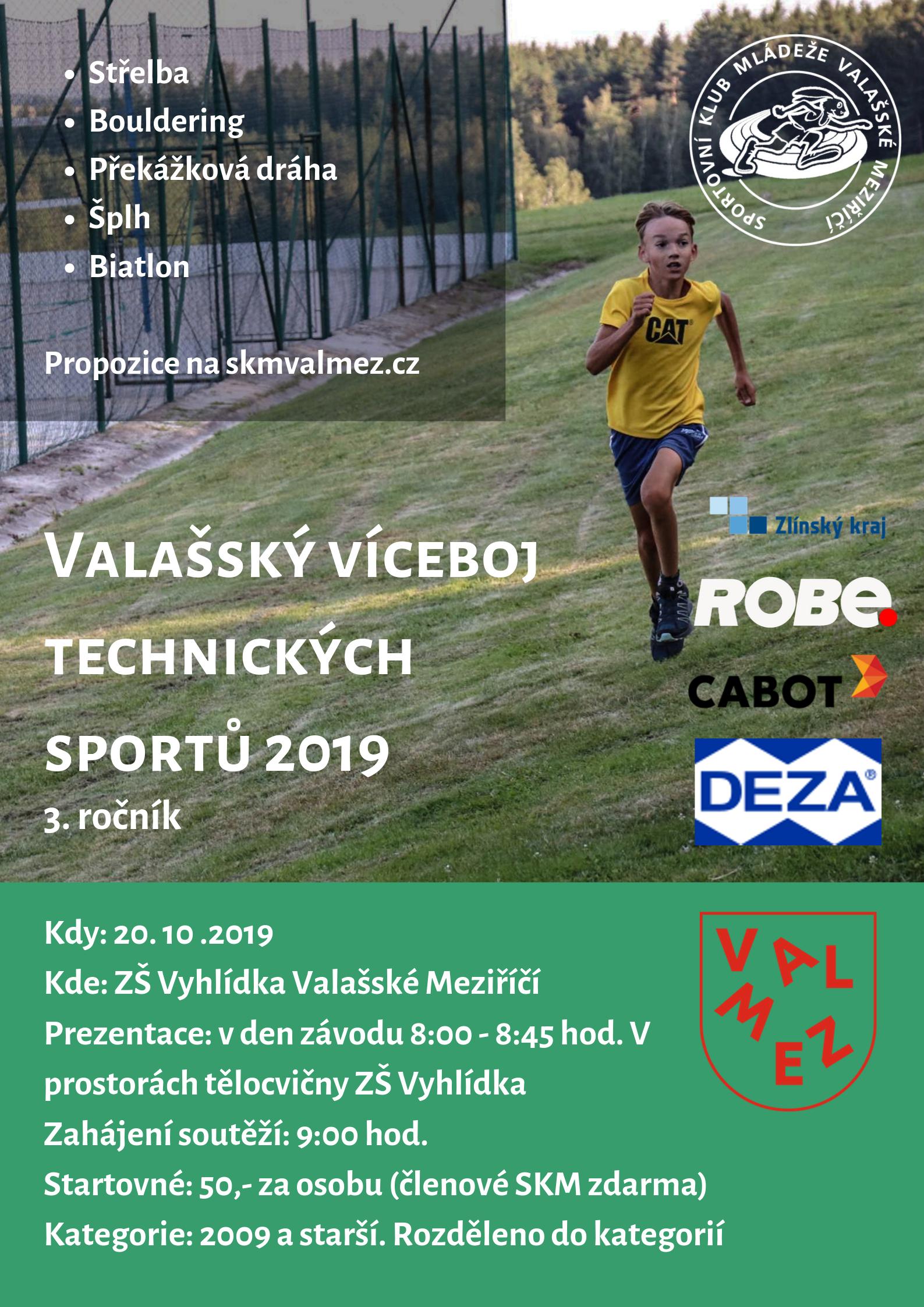 Valašský víceboj technických sportů 2019